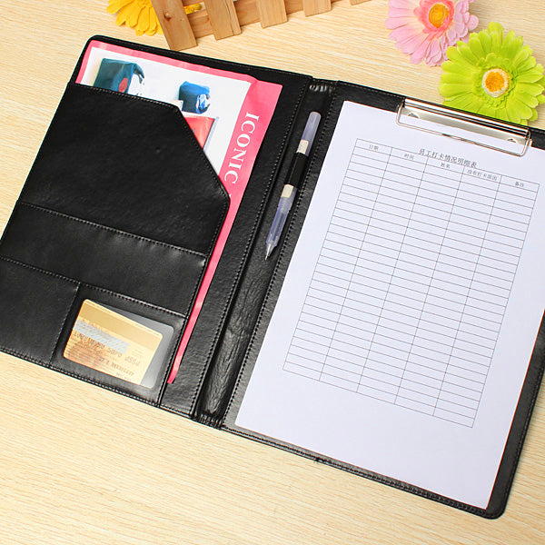 Executive A4 Conference Folder with Clipboard
