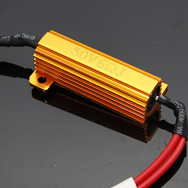 50W/6R(6ohm) Load Resistor Wiring Canceled Decoder HID/LED Light