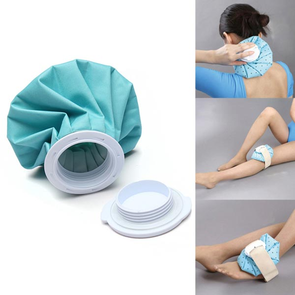 Sports Health Care Ice Bag Pack Cap For Muscle Aches Injury First Aid Care