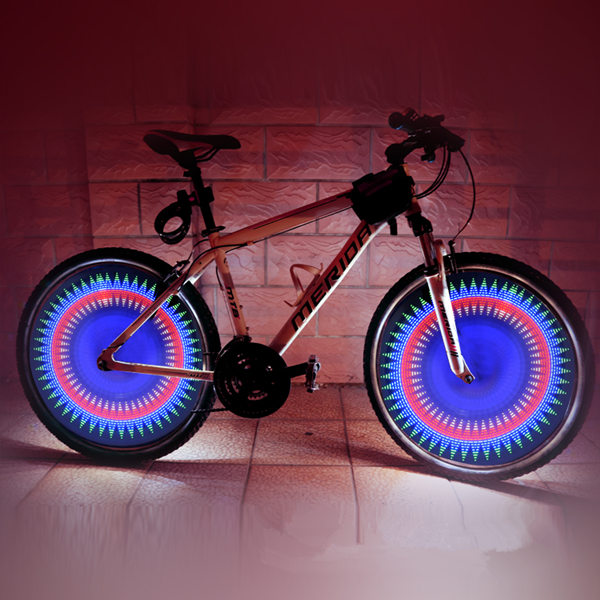 32 LED DIY Programmable Bicycle Cycling Wheel Light