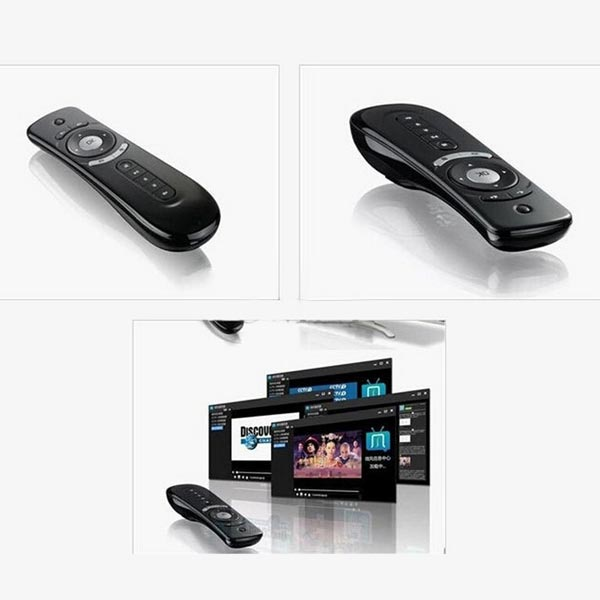 Tooploo T2 2.4G Wireless Fly Air Mouse Gaming Remote For Mac Android