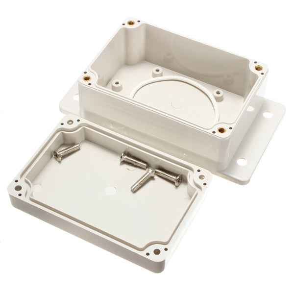 White Plastic Waterproof Electronic Case PCB Box 100x68x50mm Junction Case