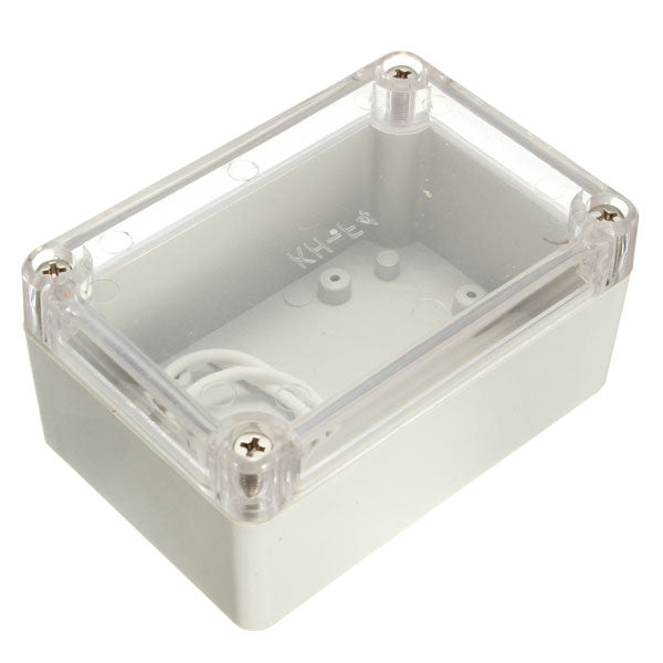 Electronic Plastic Box Waterproof Electrical Junction Case 100x68x50mm