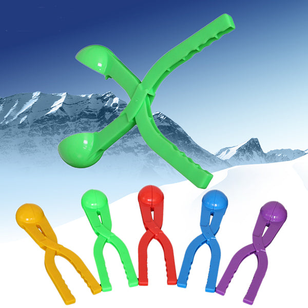Colorful Snowball clip Plastic Clip Snowball Fight Tool Device