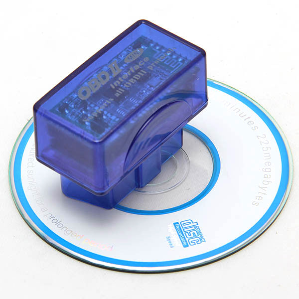 V2.1 Super Mini ELM327 BT OBD2 Scanne Can Bus Supports