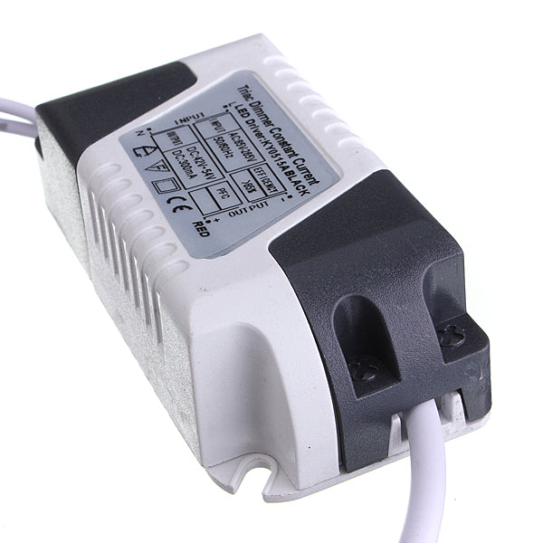 15W LED Dimmable Driver Transformer Power Supply For Bulbs AC85-265V