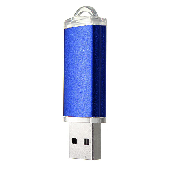 10 x 128MB USB 2.0 Flash Drive Candy Blue Memory Storage Thumb U Disk