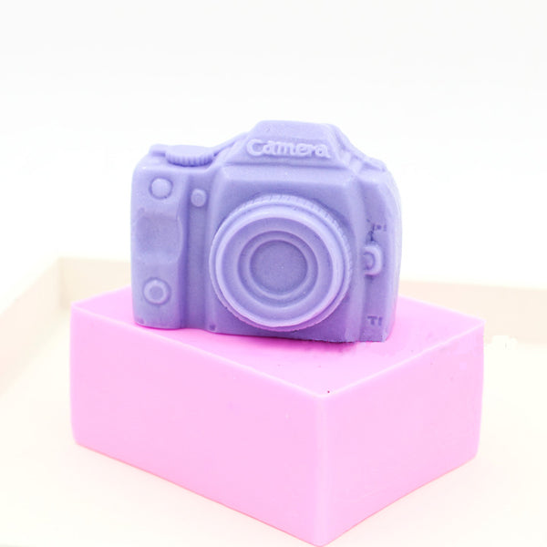 Camera Silicone Soap Mold Fondant Chocolate Clay Mould Creative Baking Tools