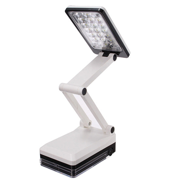 Portable Folding LED Reading Light Rechargeable Table Study Desk Lamp