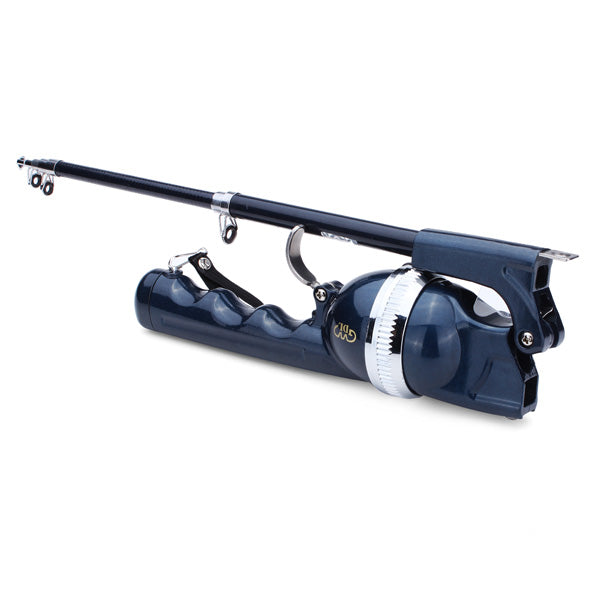 Folding Telescopic Sea Rods Suit Portable Fishing Poles