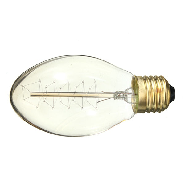 Incandescent Bulbs ST58 E27 40W Retro Edison Light Bulb AC 220-240V