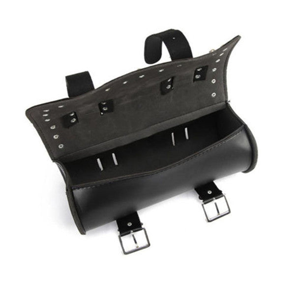 Classic Universal PU Leather Tool Saddle Bag Motorcycle Autobike Scooter