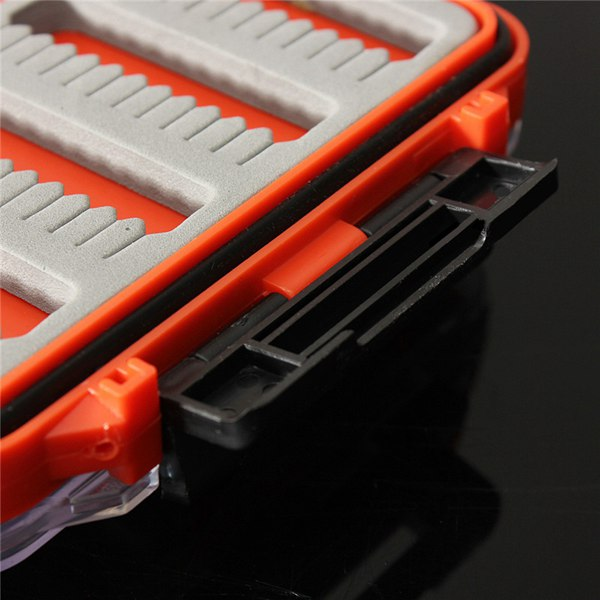 Double Side Fishing Box Waterproof Fly fishing Box Fishing Tackle