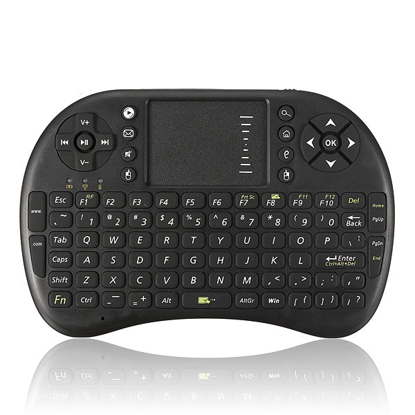 2.4G Mini Wireless Keyboard Air Mouse with Touchpad for PC Android TV HTPC