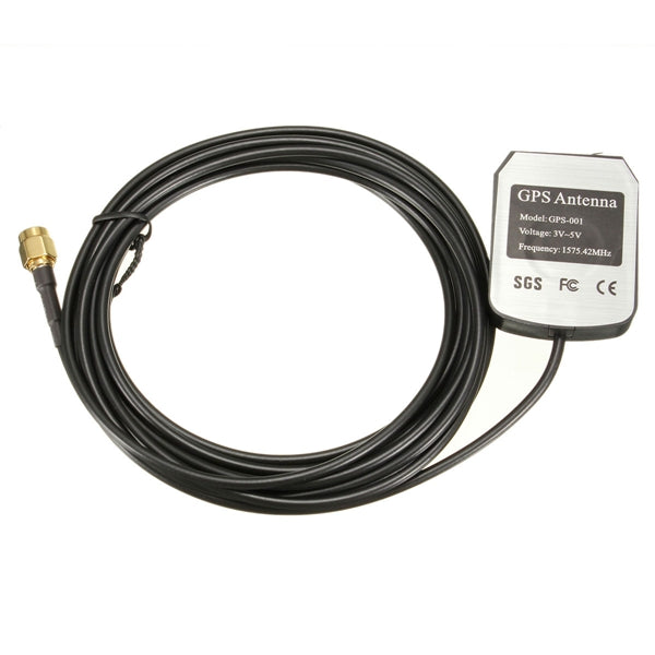 3M GPS Antenna Cable Car Auto DVD Player Aerial Connector SMA 1575.42MHz