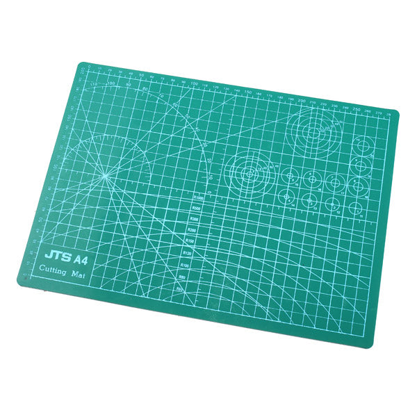 A4 30X20cm Grid Self Healing Cutting Craft Mat Engraving Board Double Sided