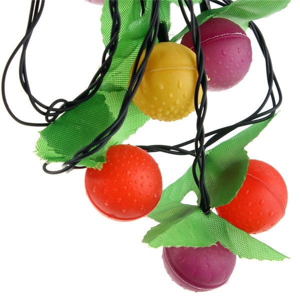 3M 28 LED Multicolor Fruit String Fairy Light for Xmas Party Tree Hang Decor