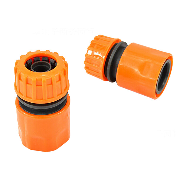 1/2 Inch 16mm Car Washing Hose Pipe Water Stop Plastic Connector