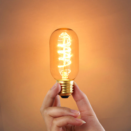 T45 E27 220V 40W Incandescent Bulb Retro Edison Light Bulb
