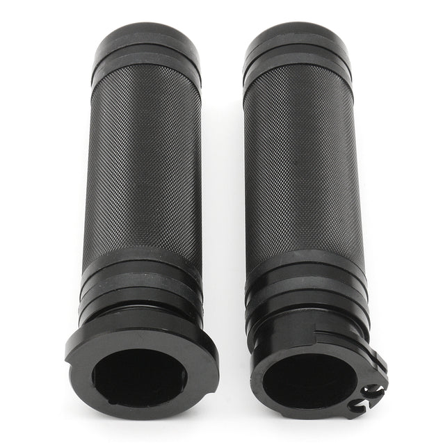 Pair 1inch 25mm Motorcycle Handlebar Hand Grips For Harley Sportster Cruiser Bobber