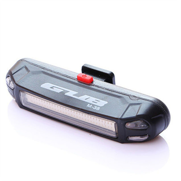 GUB M-38C 100LM Bike Light USB Rechargeable LED Taillight Ultralight Multifunction Warning Night Light