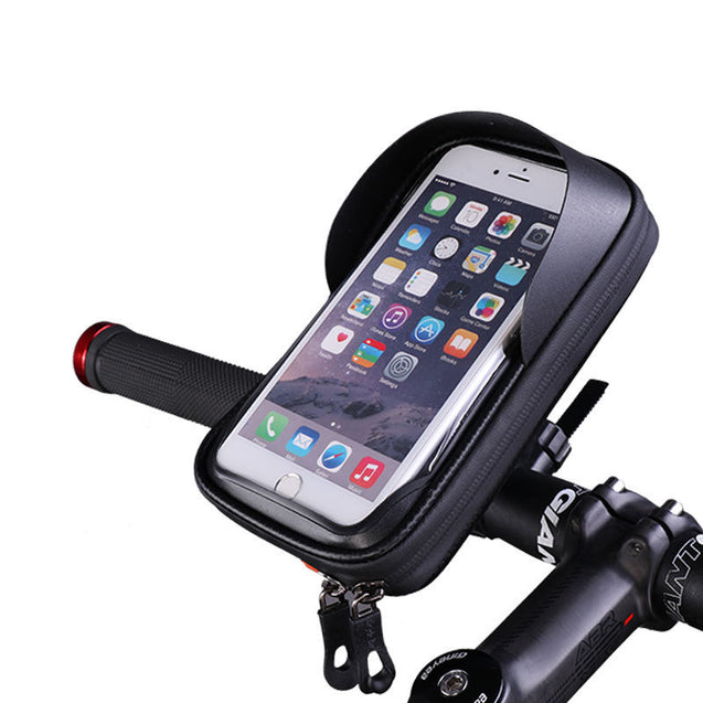 BIKIGHT 6.0 Inch Bicycle Phone Holder Waterproof  Phone Case Bag For Xiaomi Electric Scooter Motorcycle E-bike Bike Bicycle Cycling Bracket Bag Portable Outdoor