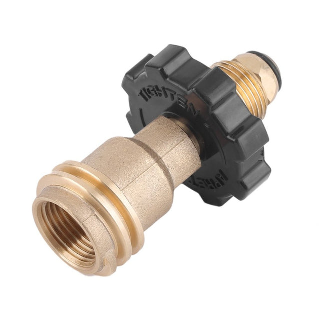 50LB Gas Cylinder Pressure Reducing Valve Adapter Universal Fit Propane Gas Tank Adapters for BBQ O