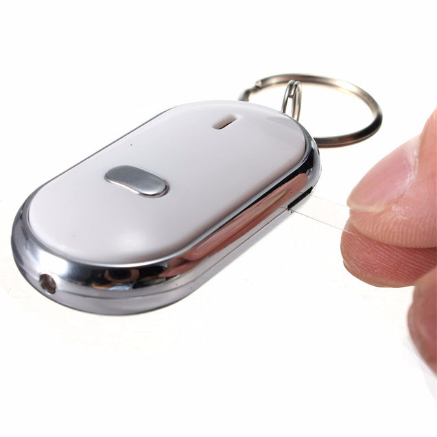 3pcs Whistle Key Finder Keychain Sound LED With Whistle Claps