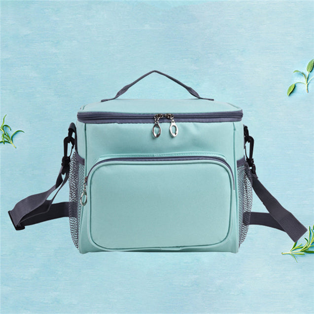 25.5x18x22.5cm Insulated Cooler Bag Kids Women Outdoor Picnic Container Thermal Lunch Bag Totes