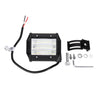 4 Inch LED Work Light Bar Flood Beam Driving Fog Lamp 54W 5400LM for Jeep Offroad Truck SUV