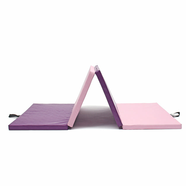 120x24x5cm Airtrack Gymnastics Mat Four Folding Exercise Floor Pad Training Pad Sport Protector