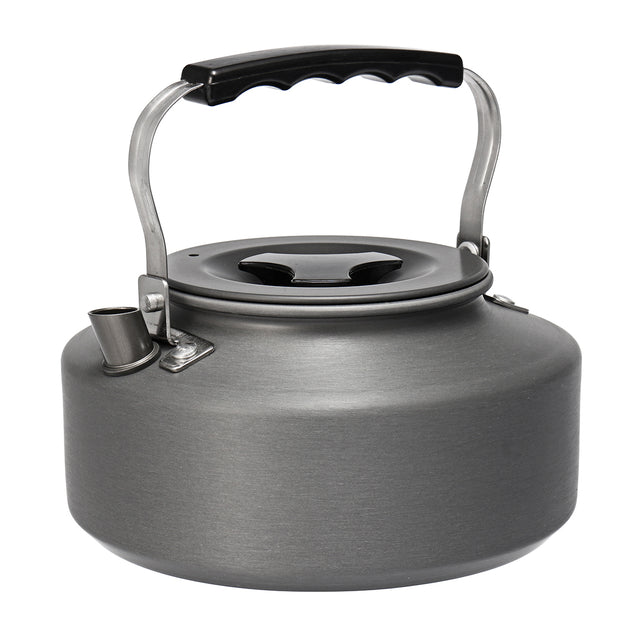 2-3 People Outdoor Camping Picnic Cookware Set Aluminium Kettle Pots Portable BBQ Tableware