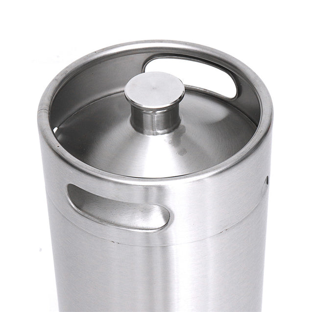 10L Stainless Steel Cast Growler Barrel Beer Wine Making Tools Accessories