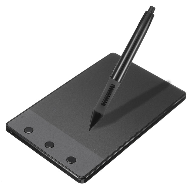 "Huion H420 4 x 2.23"" USB Art Design Graphics Tablet Drawing Pad with Digital Pen"""