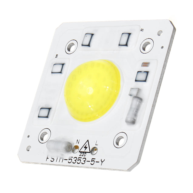 High Power 30W LED COB DIY White Light Source Bead Lamp Chip AC180-240V