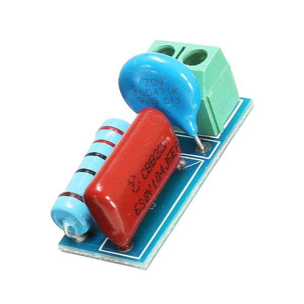 5Pcs RC Resistance Surge Absorption Circuit Relay Contact Protection Circuit Electromagnetic