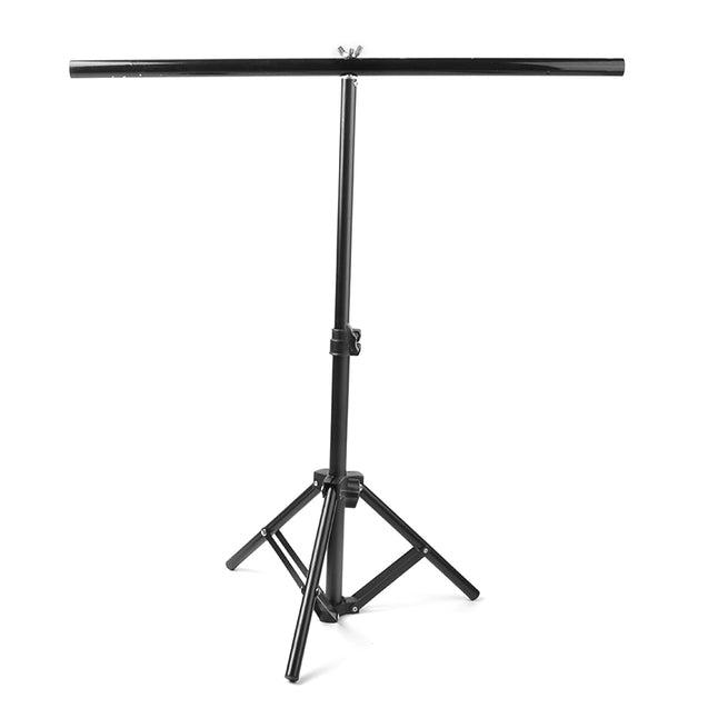 Studio Backdrop Stand T- Frame Light Stand with Clamp