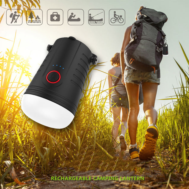 4000mAh Power Bank Camping Tent Light 4 Modes Lantern Rechargeable Emergency Lamp