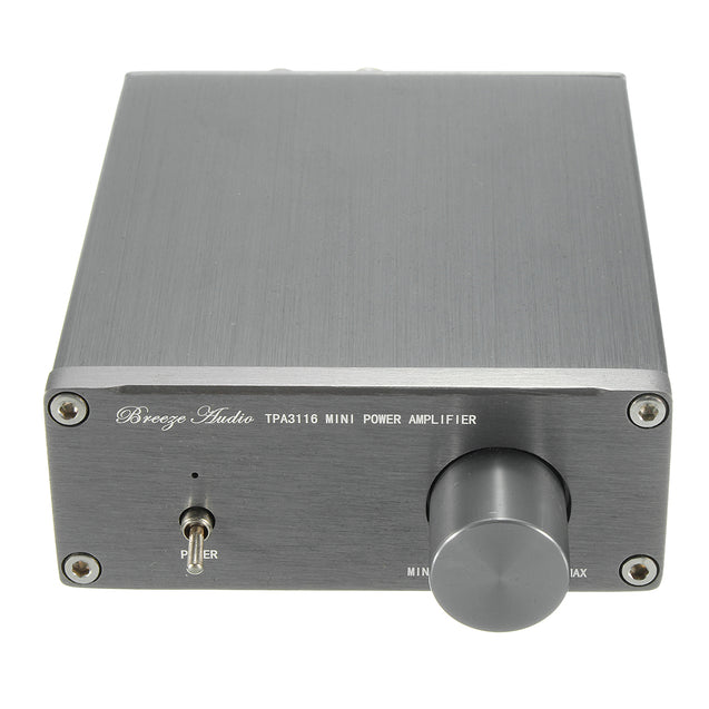 Breeze Audio TPA3116 HIFI Class 2.0 Stereo Digital Amplifier Advanced 50W+50W