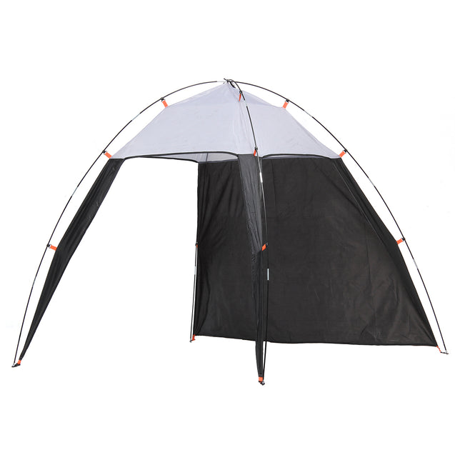 5-8 People Outdoor Beach Triangle Tent Waterproof Sun Shade Canopy Shelter Camping Hiking