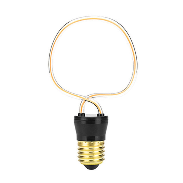 4.5W JH-AP Retro Edison Unique Indoor Home Lamp E27 LED Soft Filament Light Bulb AC220-240V