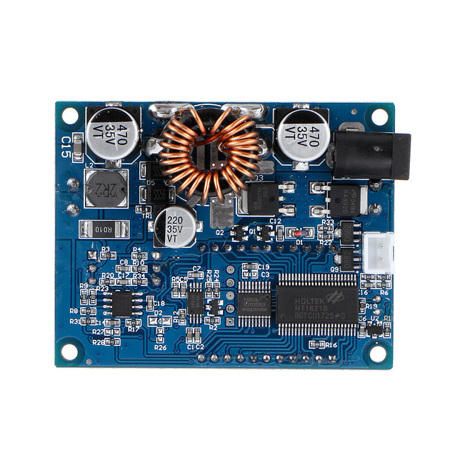 ZK-DP60 60W Step Down Converter High-Power Adjustable Buck Power Supply Module LCD Display with Fan and Acrylic Shell