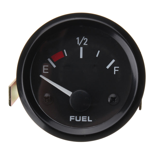 Universal 2inch 52mm Fuel Level Gauge Meter With Car Fuel Sensor E-1/2-F Pointer
