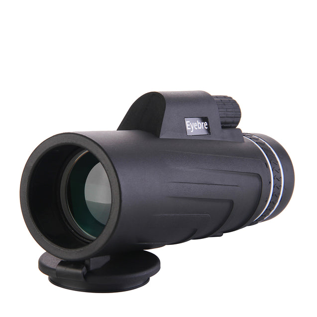 10x42 HD Zoom Monocular Waterproof Telescope Camping Night Vision Bird Watching With Phone Clip