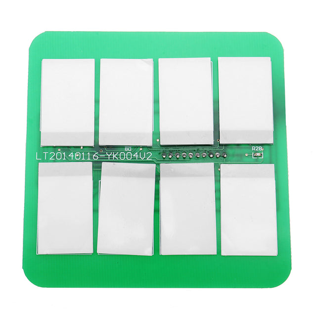 12V 8 Channels Capacitive Touch Switch Module With Relay And Self-locking Interlock Function