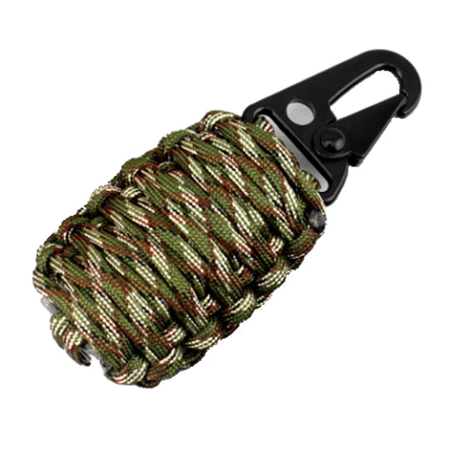 16Pcs Outdoor Paracord Kit Survival Rope Set Fishing Tools Camping Carabiner Emergency Gear