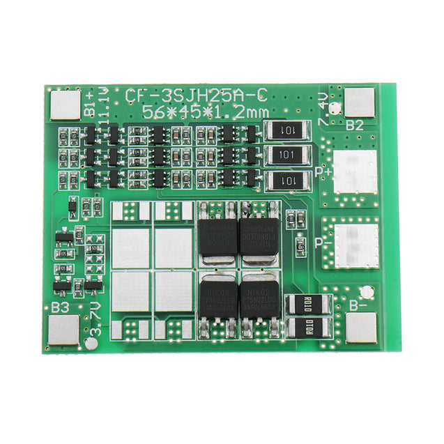 3pcs DC 12V 12A Three String Battery Protection Board Panels Solar Street Lights