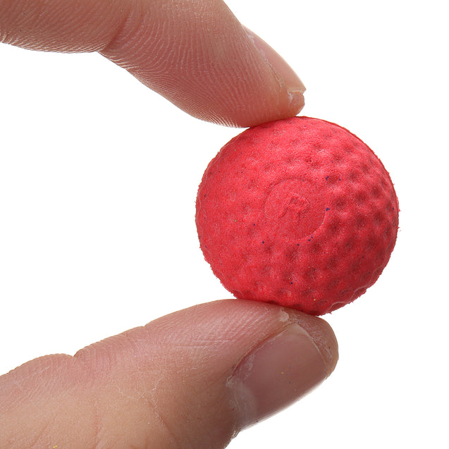 50Pcs Red Round Replace Ball For Nerf Rival Apollo Zeus Toy