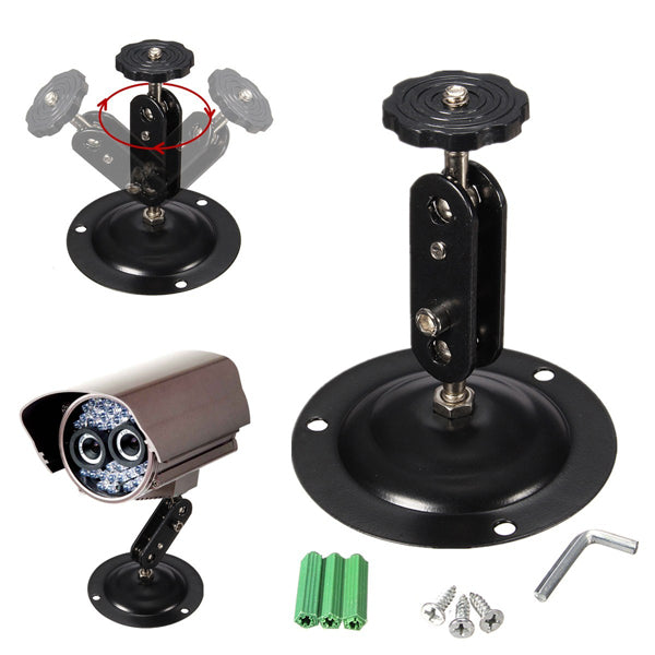 360degree Adjustable Metal Security CCTV IP Camera Wall Mount Bracket Ceiling Stand