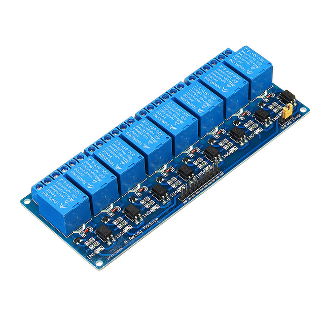 8 Channel Relay Module 24V with Optocoupler Isolation Relay Module For AVR 51 PIC